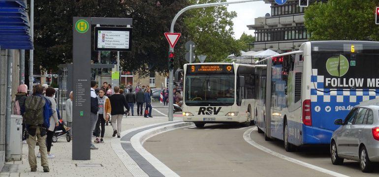 Neues Stadtbusnetz in Reutlingen gestartet!
