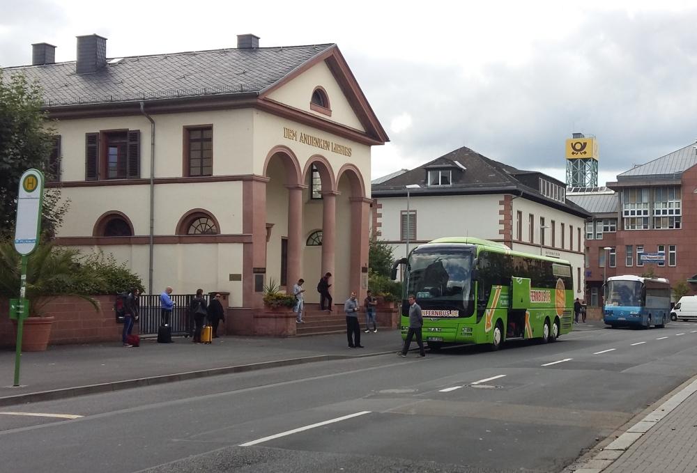 Machbarkeitsstudie Fernbusbahnhof Gießen
