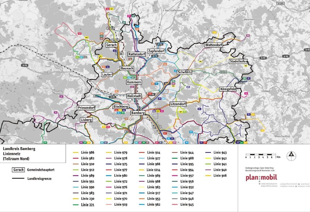 Mobilitätskonzept Landkreis Bamberg