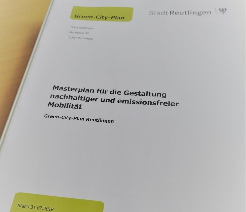 Masterplan Green-City Reutlingen
