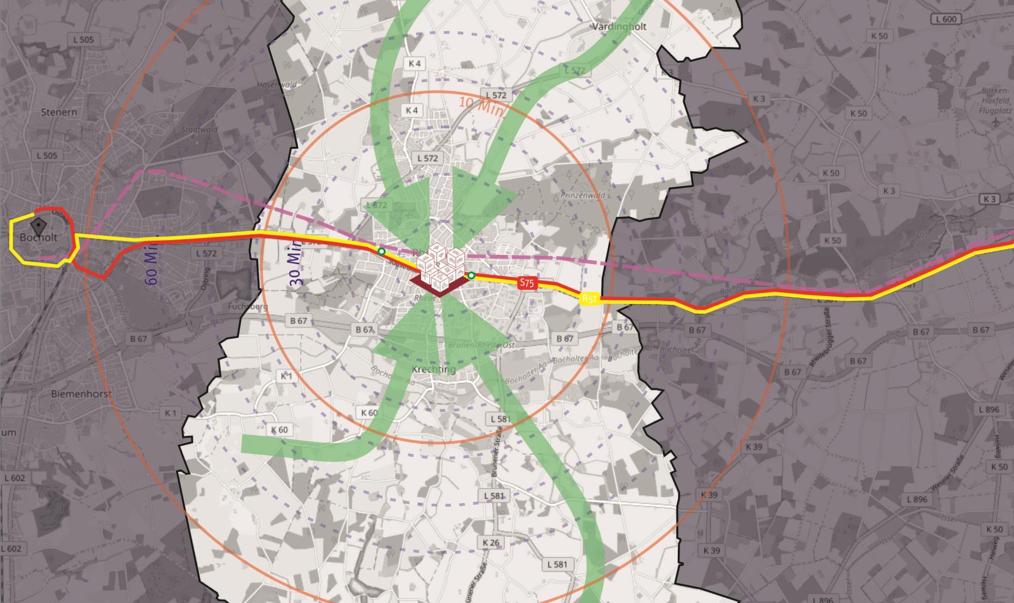 Kurzgutachten zur Nahverkehrsplanung in der Stadt Rhede
